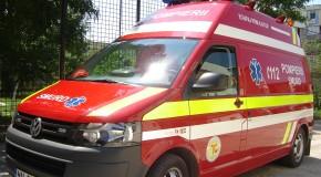 Minoră rănită într-un accident rutier pe DN31