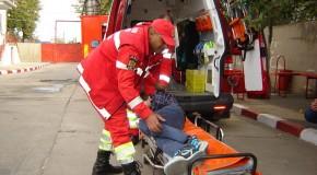 Bărbat grav rănit într-un accident rutier produs pe DN3B