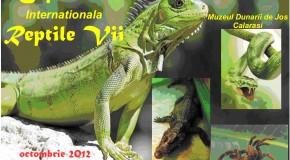 """Expoziţie internaţională intitulată """"Reptile vii"""" la Muzeul Dunării de Jos"""