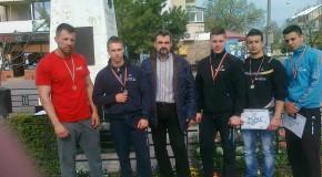 Culturistii calaraseni au obtinut 5 medalii la etapa de zona a campionatelor nationale