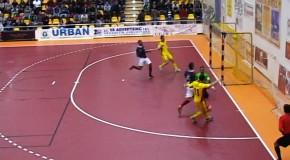 România a învins Franța cu scorul de 4-1, într-un meci amical de futsal