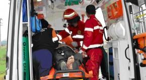 Grav accident rutier la Drajna