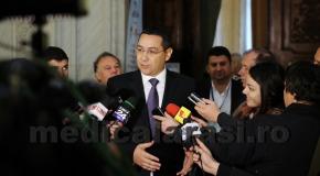 Premierul Victor Ponta demisionează