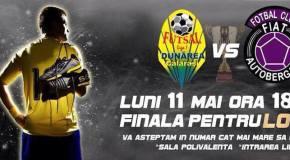 FINALA MICĂ la Futsal   Dunărea Călărași – AutoBergamo Deva