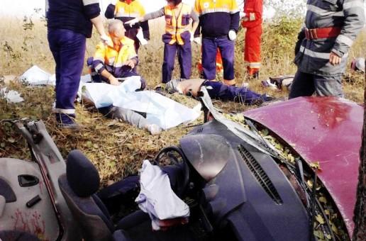 Tragedie pe DJ 403 în apropiere de localitatea Luica