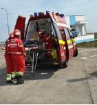 Accident pe DN3