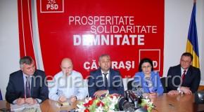 Conferinţă de presă la PSD Călăraşi – 23 martie 2016