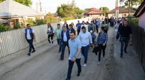 Echipa PNLCălăraşi, prezentă în cartierul Măgureni