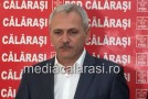 Liviu Dragnea (PSD) prezent la Călăraşi