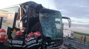 Grav accident pe Autostrada Soarelui, calea II, sens de mers Constanța – București, la km 68, pe raza localității Lehliu Gară