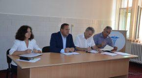 """Președintele Consiliului Județean Călărași, Vasile Iliuță, s-a întâlnit cu șefii de secții din Spitalul Județean de Urgență: """"Sănătatea va rămâne domeniul prioritar pentru Consiliul Județean Călărași"""