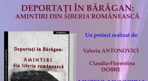 Cartea Deportați în Bărăgan: Amintiri din Siberia românească va fi lansată la Călărași