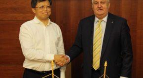 COMUNICAT DE PRESĂ Privind semnarea acordului de principiu între Primăria Călărași și investitori chinezi în vederea unor investiții în infrastructură și mediu