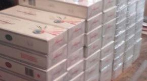 Peste 10.000 de țigarete confiscate de polițiști