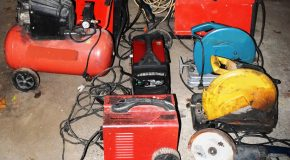 Echipamente și utilaje electrice recuperate de polițiști
