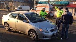 Accident rutier in zona Mircea Vodă
