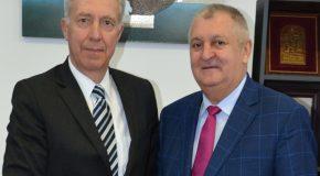 COMUNICAT DE PRESĂ Privind vizita, în municipiul Călărași, a Excelenței Sale Hans Klemm, ambasadorul SUA în România