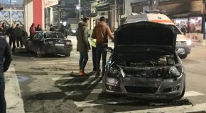 "Accident rutier in intersecția de la ""Volna"""