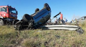 Accident rutier in Sarulesti Sat